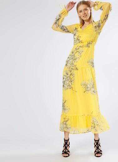 Vero Moda Elbise Sarı